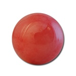 Wholesale Round Semi Precious Stone Cabochon - 12mm, available in Salmon only.