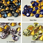 Wholesale Austrian Swarovski Crystal Art.1100. Available in Lt.Amethyst & Jonquil, 8mm, 39ss