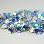 Wholesale Austrian Swarovski Crystal Art.1100 Aquamarine AB, 8mm, 39ss (144pcs. minimum)