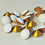 Wholesale Austrian Swarovski Crystal Art. #1100 ChalkWhite, 11mm. (36pcs. minimum)