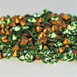 Wholesale Czechoslovakia Crystal Art.1100 Peridot, 6mm, 29ss (360pcs. minimum)