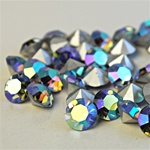 Wholesale Austrian Swarovski Crystal Art.1100 Lt. Sapphire AB, 8mm, 39ss (144pcs. minimum)