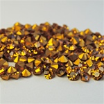 Wholesale Austrian Swarovski Crystal Art.1100 Topaz, 6mm, 29ss (360pcs. minimum)