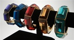 Coldwater Creek Lucite Bold Gems Stretch Bracelets
