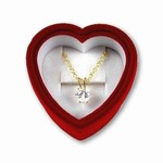 CZ Heart Pendent