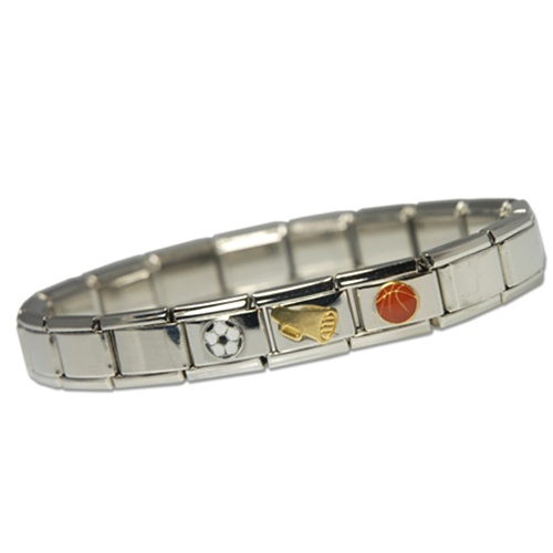 italian styled link cjarm bracelet