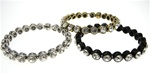 Wholesale Genuine Chico's Magnetic Bangle Bracelet with Crystal Stones