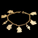 Christmas Charm Children's Bracelet