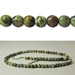 Genuine Ryolite Faceted Beads