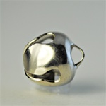 Wholesale Silver Plated Tingle Bell 10mm, with loop to dangle, 20pcs for $5.00.