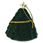 Ring,Earring, pendant Box -  1 Dozen - Xmass Tree Boxes - Suitable for earrings, rings or pendants.