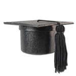 Ring,Earring, pendant Box - Graduation Cap