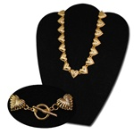 Wholesale Heart Link Necklace