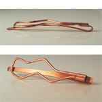 Copper Coated Hair Clip