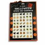 Halloween Stick-On Earrings
