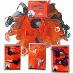 Halloween hair pins & pony holders