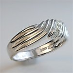 Wholesale Sterling Silver with Diamonds Ring