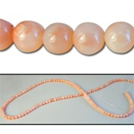 Wholesale Coral Beads Genuine coral beads, 3.5mm-4mm, sold by the strand, (132 beads per strand).