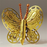 Brass Butterfly Finding