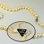 Genuine Pearls of MAJORCA Necklace Captivating 8mm pearls made in Spain, 18