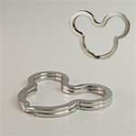Micky Mouse Split Key Ring