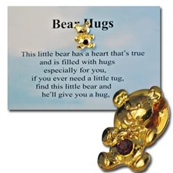 Wholesale Bear Hugs Pin Amp Poem
