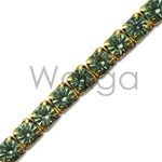 Rhinestone Chain Chrysolite