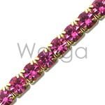 Rhinestone Chain Rose