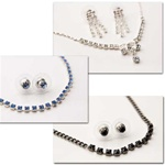 Wholesale Genuine Austrian Crystal. Assorted Earrings and Necklace Sets