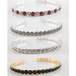 Beautiful Assorted Rhinestone Cuff Bracelets