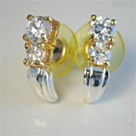 Wholesale Gold Silver CZ Earrings