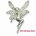 Sterling Silver Fairy Pin