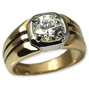 Men S High Quality Cubic Zirconia Rings