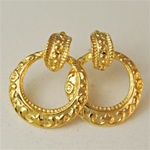 14KT Gold Post Earrings