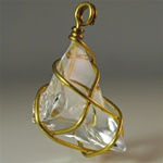 Wholesale Wire Crystal Lucite Pendant