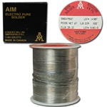 Soft Solder Wire  1Lb spool of low melt solder wire