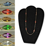 Assorted Crystal Lucite Necklaces