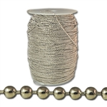 Wholesale Nickel Plated Ball Chain by the Foot