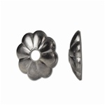 Flower design finding, with antique finish