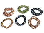 Assorted Department Store Brand Assorted Pearl Bracelets (40 pieces lot)