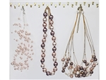 Assorted Department Store Brand Pearl Necklaces (40 pieces lot)