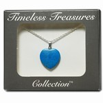 Wholesale Turquoise Heart Necklace in box