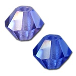 Swarovski Art. 5301 Bicone Crystal Bead - 3mm- Available in Tanzanite AB or Capri Blue AB