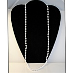 "Wholesale Endless Pearl Necklace Elegant endless 6mm pearl necklace, 28"". (1 dozen minimum)"