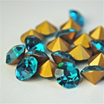 Wholesale Austrian Swarovski Crystal Art. #1100 Blue Zircon, 11mm. (72pcs. minimum)