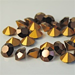Wholesale Austrian Swarovski Crystal Art.1100 Bronze, 8mm, 39ss (144pcs. minimum)