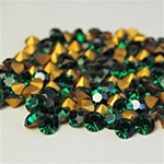 Wholesale Austrian Swarovski Crystal Art.1100 Emerald, 6mm, 29ss (360pcs. minimum)