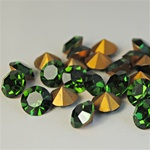 Wholesale Austrian Swarovski Crystal Art. #1100 Green Turmaline, 11mm. (36pcs. minimum)
