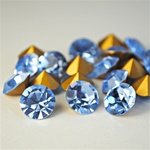 Wholesale Austrian Swarovski Crystal Art. #1100 Lt.Sapphire, 11mm. (1Gross, 144pcs. minimum)