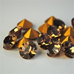 Wholesale Austrian Swarovski Crystal Art. #1100 Lt. Smoked Topaz, 11mm. (36pcs. minimum)